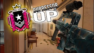 Suppressor Is Now *OP* - Raiฑbow Six Siege