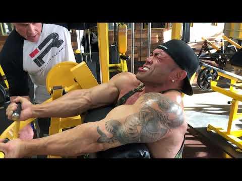 Hidetada Yamagishi's 2018 Arnold Classic Preparation. ARMS TRAINING.