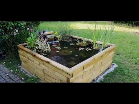 un bassin en bois quadra woodframe