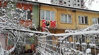 KIŞ GERİ GELDİ - Kayseri'den kar manzaraları