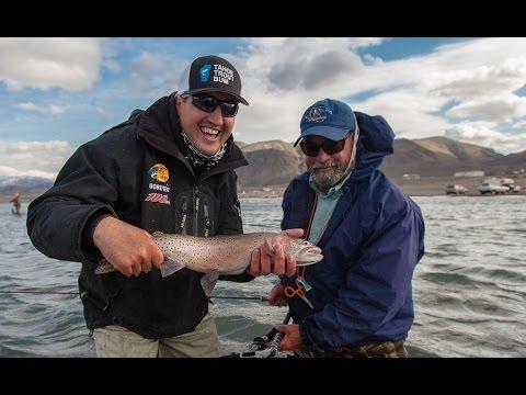 Pyramid Lake Fly Fishing! Ft. Matt Heron, Doug Ouellette, Dave Stanley & Stefan McLeod