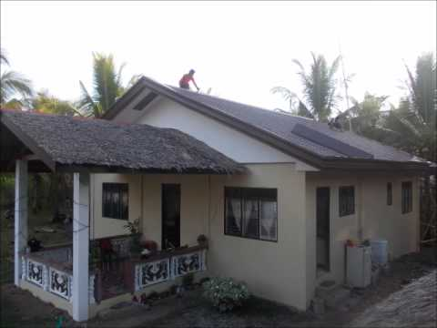 Replacing Our Nipa Roof With Tile Span In The Philippines