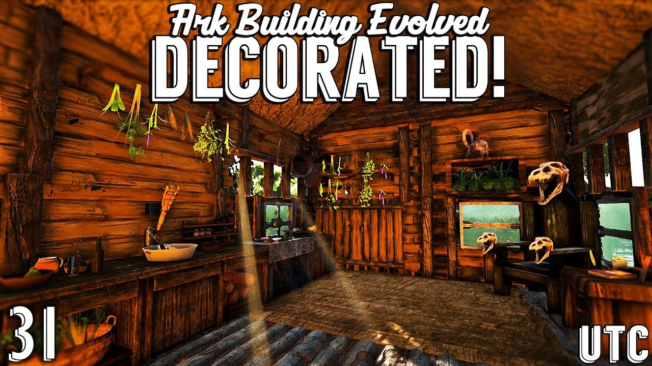 Melli S Witch Hut Decor Ark Building Evolved W Utc Ep 31