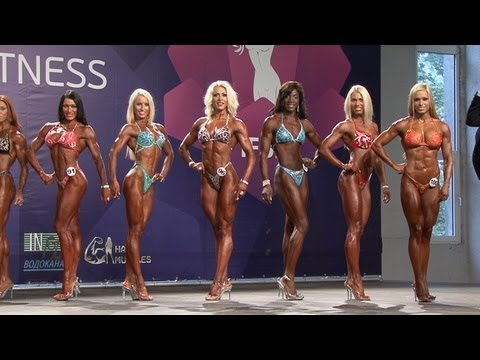 2013 World IFBB Women's BODYFITNESS over 168 cm - FULL
