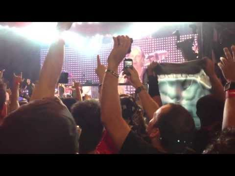 Metallica Live in Malaysia - Kirk Hammet lupa ucap Selamat Hari Raya