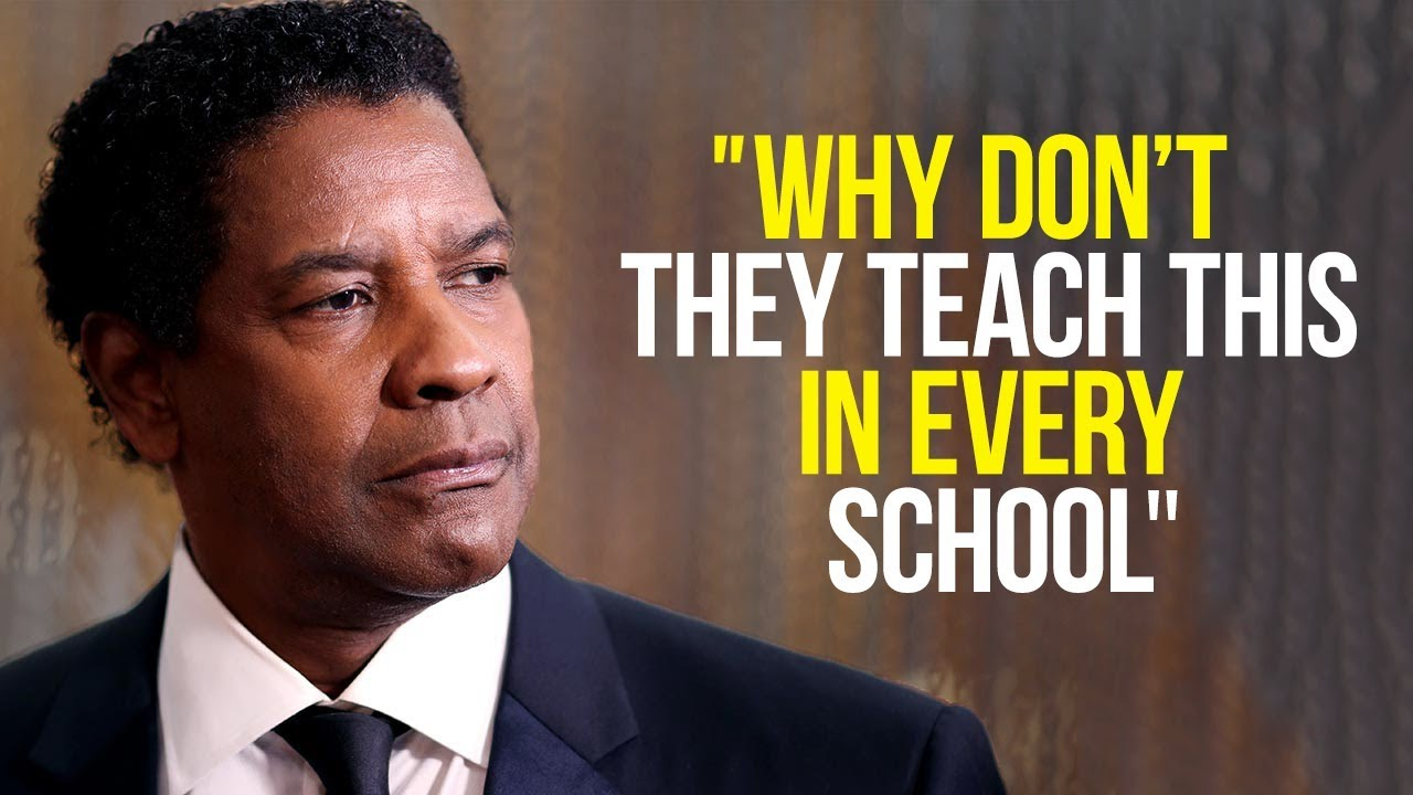 Denzel Washington's Speech Will Leave You SPEECHLESS - One of the Most Eye Opening Speeches Eve