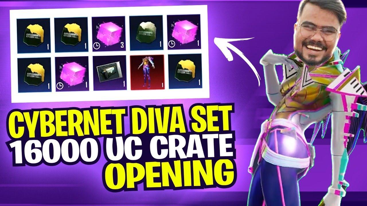 DIVA set crate opening 500k uc 😂