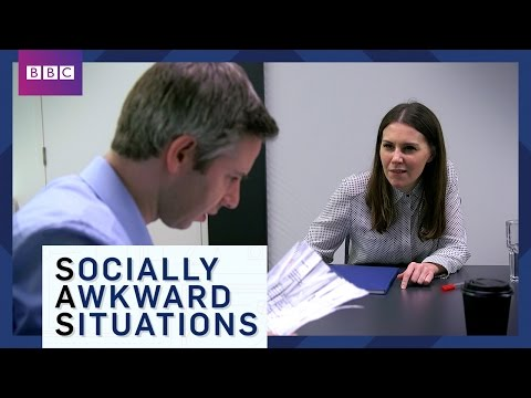 How To Small Talk - Socially Awkward Situations - BBC Brit