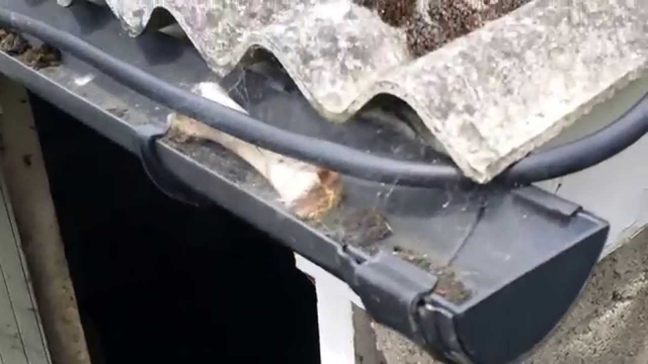 Dangers Of An Asbestos Corrugated Roof Youtube