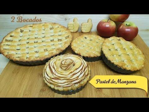 TARTA DE MANZANA - Delicioso Pay de Manzana - Apple Pie