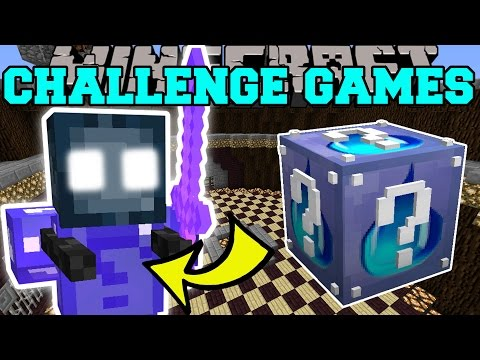 Minecraft: KRAKEN CHALLENGE GAMES - Lucky Block Mod - Modded