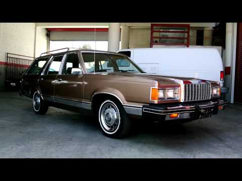 1982 Ford Granada Fox Station Wagon LTD Fairmont Estate 1 Owner Car Guy Mark 2