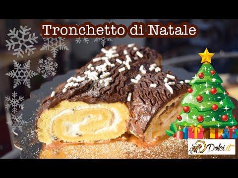 Tronco Di Natale Youtube.Tronchetto Di Natale Le Ricette Di Dolci It Youtube