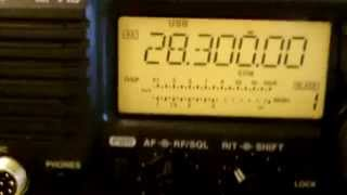 icom ic 718 hf transceiver set up