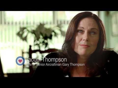 Jacqui Thompson - How the RAF Benevolent Fund helped my family