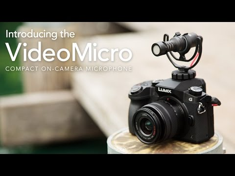 Introducing the RØDE VideoMicro