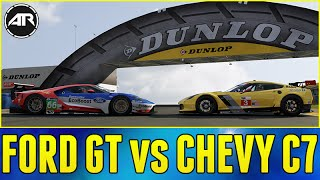 Forza 6 Online : Ford GT VS. Chevy C7!!!