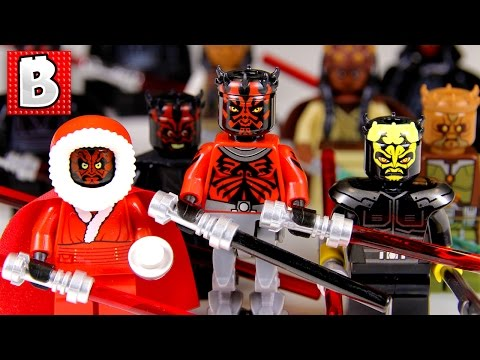 Every Lego Darth Maul Minifgure Ever!!! + All Zabrak Minifigs too! | Collection Review