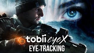 EYE TRACKING IN A VIDEO GAME - Division PC gameplay (Tobii EyeX)
