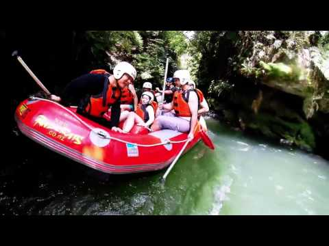 5+ White water rafting, Kaituna River, New Zealand