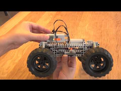 Crocodile robust 4wd all wheel steering off road lego rc for Benetton 4 wheel steering