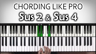 Chord Chord Keren #6 - SUSPENDED | Sus 2 & Sus 4| Belajar Piano Keyboard