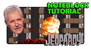 Final Jeopardy (Thinking Music) - Note Block Tutorial (Minecraft)