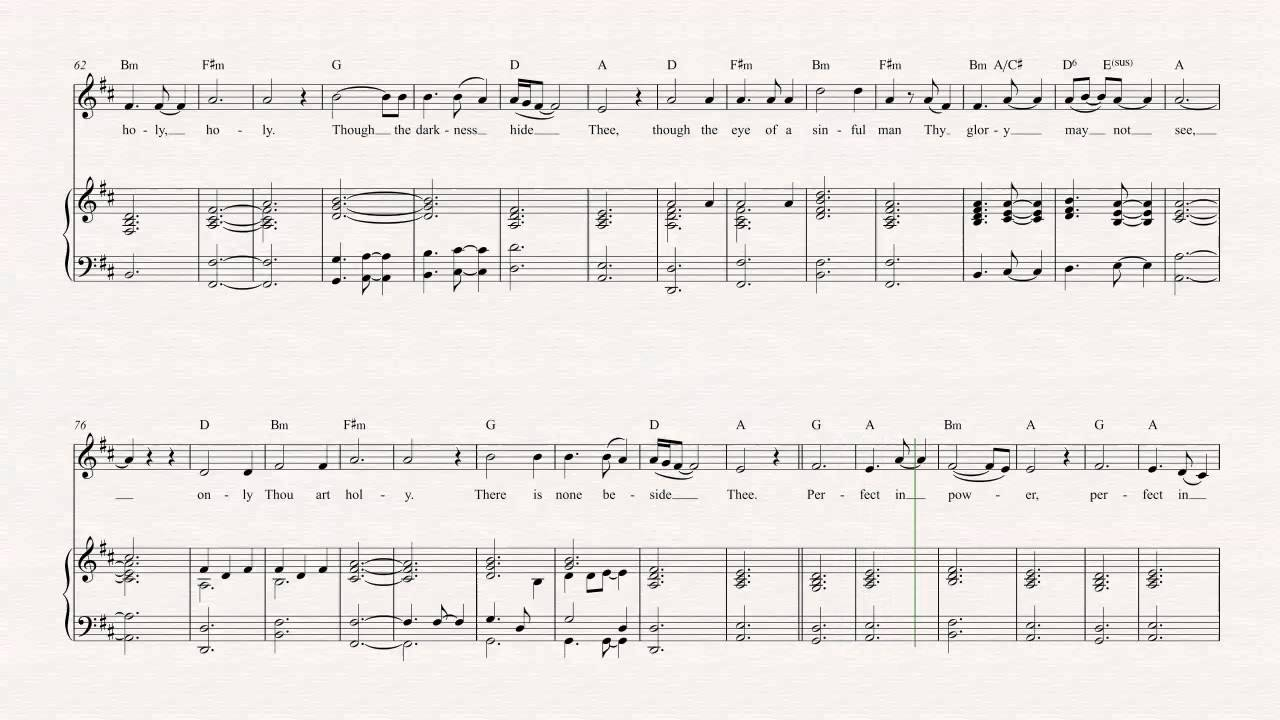 Violin   Holy Holy Holy   Sufjan Stevens   Sheet Music, Chords, & Vocals