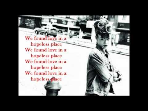 We Found Love - Karaoke/ Instrumental with Lyrics