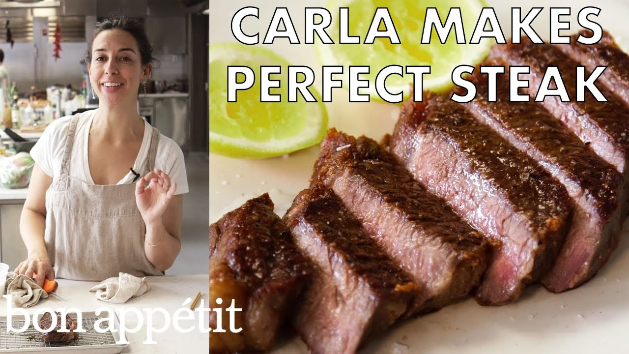 Carla Makes Absolutely Perfect Steak | From the Test Kitchen | Bon Appétit