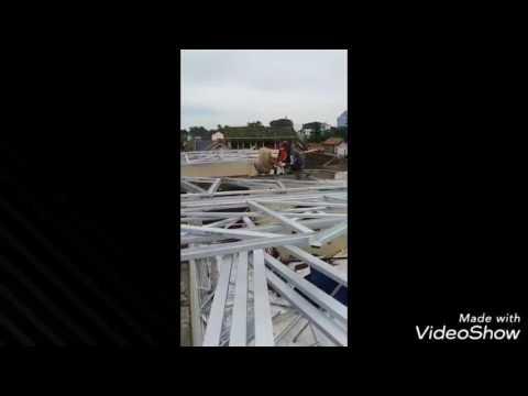 Menghitung biaya atap baja ringan