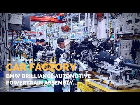 CAR Factory | BMW Brilliance Automotive | Power-train & Engine Production Shenyang, China.