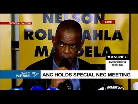 ANC NEC media briefing [full]: 25 Fbruary 2018