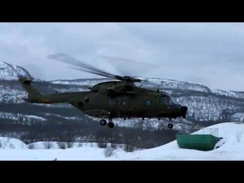 EH101 Take-off I Norge - Eftersøgning Af C-130J