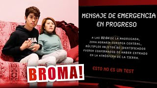 END OF THE WORLD Prank To My Mother | Manel's Project