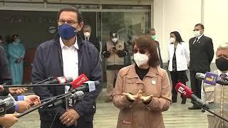 Tema: Presidente Martín Vizcarra supervisó inicio de ensayos clínicos en sede de la UNMSM