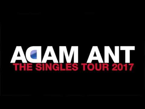 ADAM ANT | The Singles Tour 2017