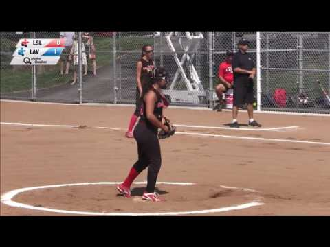 Jeux du quebec 2016 softball 2016 07 22 Lac ST Louis vs Laval