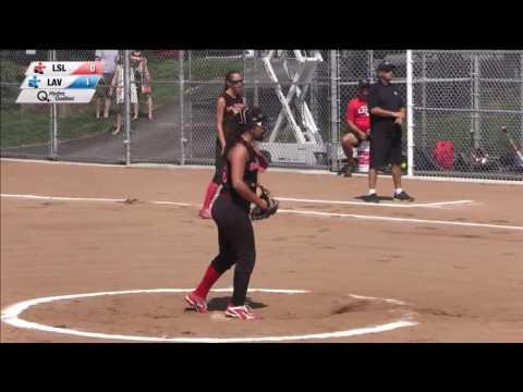 Jeux du quebec 2016 softball 2016 07 22 Lac ST Louis vs Laval