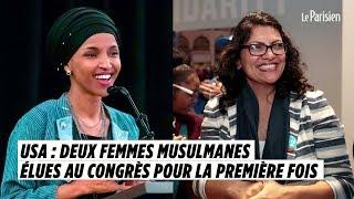 USA : deux femmes musulmanes élues au Congrès pour la première fois