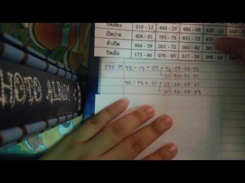 สูตรคำนวนหวยหุ้นไทย สูตร +17 / -17