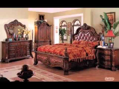 Traditional Bedroom Design Decorating Ideas   YouTube
