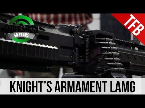[SHOT 2018] Knight's Armament Light Assault Machine Gun