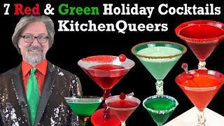 7 Red & Green Holiday Cocktails (S4E26N86-HD)