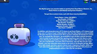 How to Calculate the Chance of getting a Brawler in a Big Box   Brawl Stars