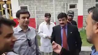 Chief Secretary Gilgit Baltistan Babar Hayat mis behave complete video