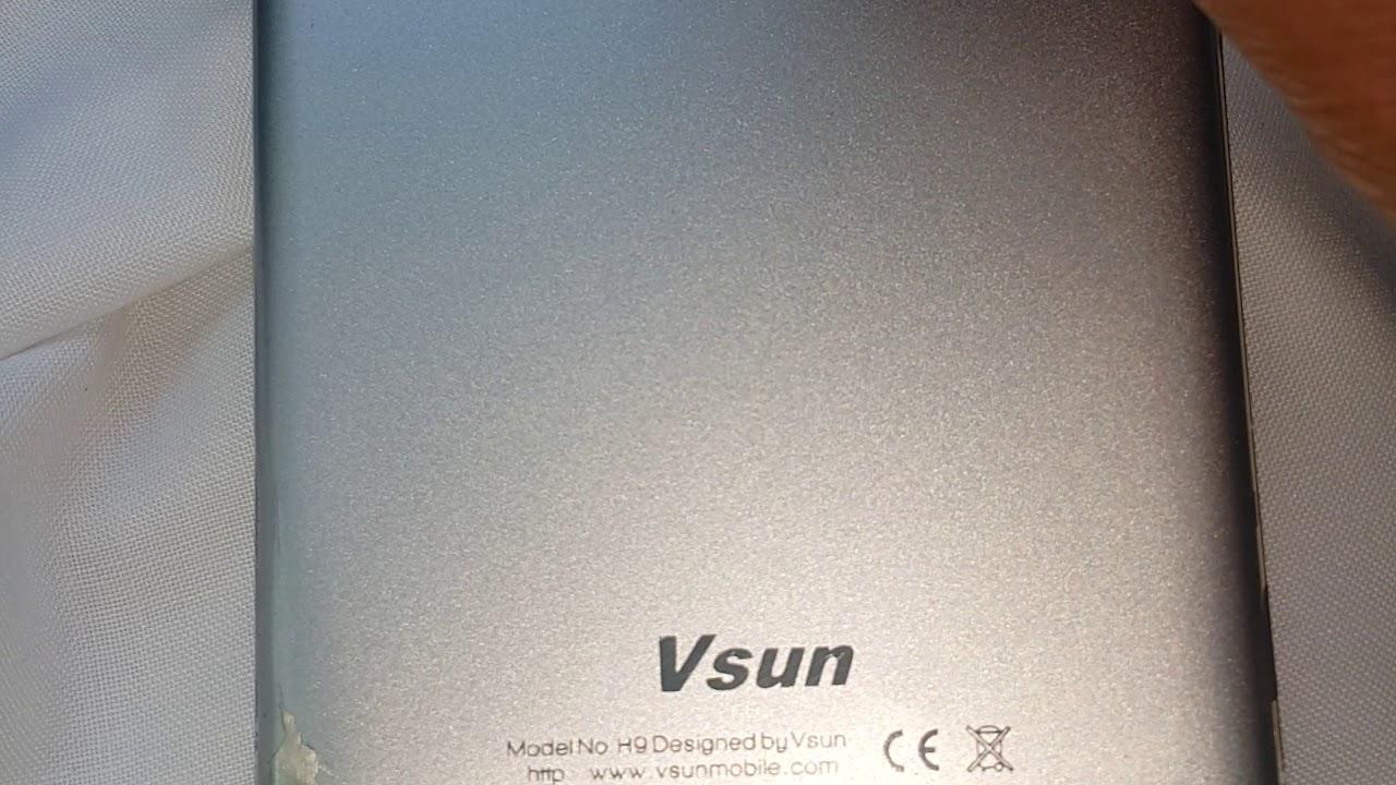 Vsun h9 mobile cover removals