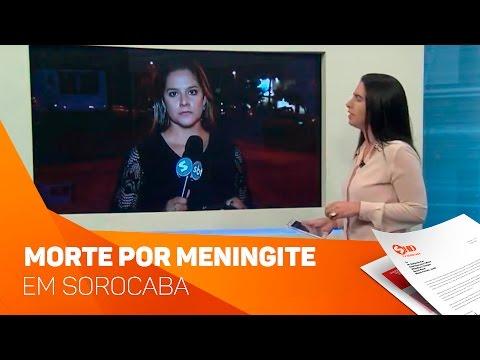 Morte de criança por meningite - TV SOROCABA/SBT