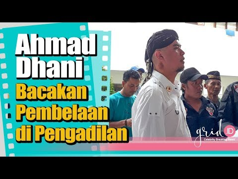 Ahmad Dhani Bacakan Pembelaan di Pengadilan Mp3