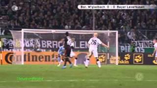 Mönchengladbach - Leverkusen 6:5 (DFB Pokal 2010) Elfmeterschießen